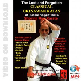 Lost and Forgotten Classic Okinawan Katas Vol.3