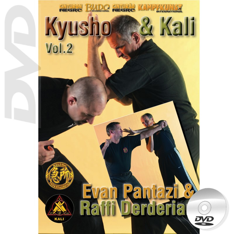 DVD Kyusho et Kali. Mains nues Vol.2