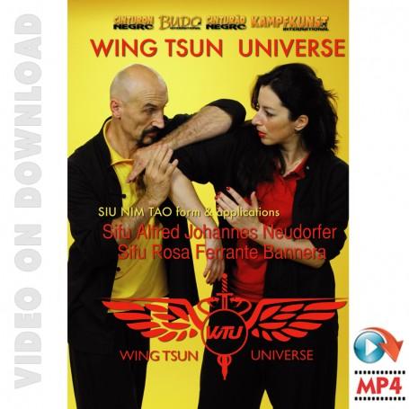 Wing Tsun Universe. Siu Nim Tao Form & Applications