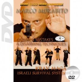 DVD Krav Maga Israeli Survival System. Errori comuni e tecniche di disarmo