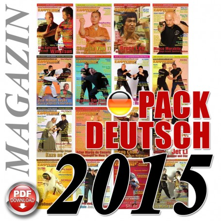 Pack 2015 Allemand Kampfkunst International Magazine