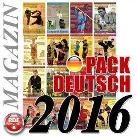 Pack 2016 Allemand Kampfkunst International Magazine