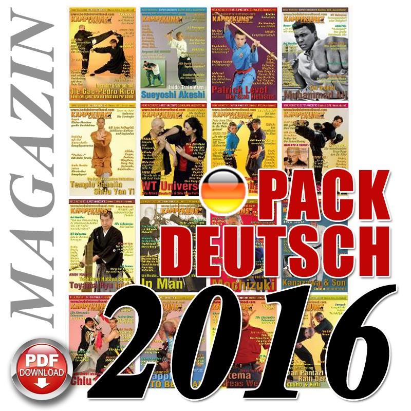 Pack 2016 German Kampfkunst International Magazine