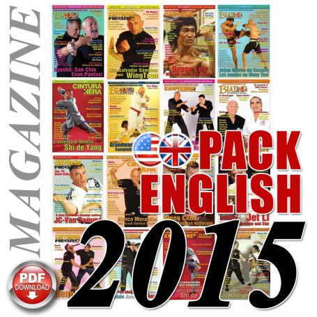 Pack 2015 Revista Ingles Budo International