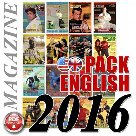 Pack 2016 Revista Ingles Budo International