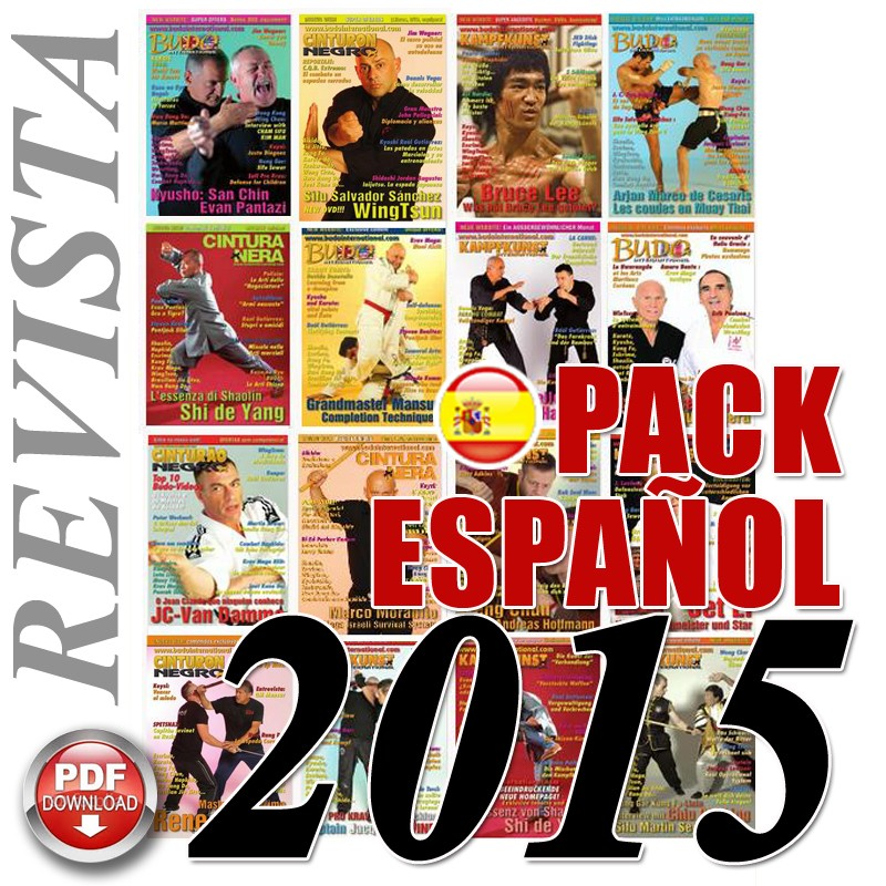 Pack 2015 Spanish Budo International Magazine
