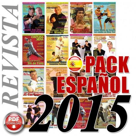Pack 2015 Spanisch Budo International Magazin