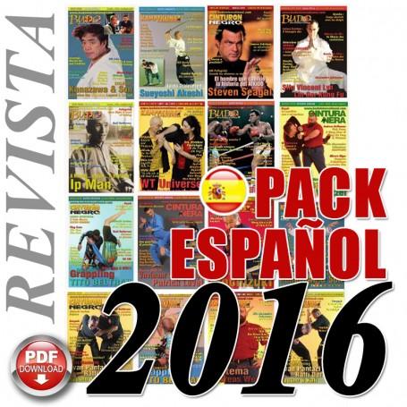 Pack 2016 Revista Español Cinturon Negro