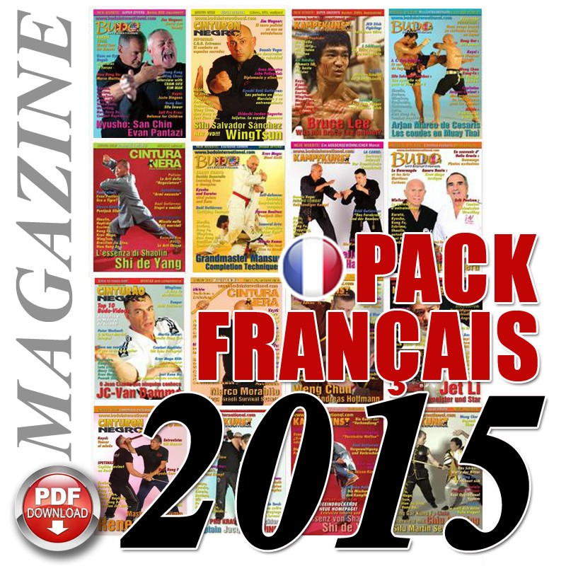 Pack 2015 French Budo International Magazine