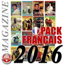 Pack 2016 Francese Budo International Magazine