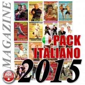Pack 2015 Revista Italiana Budo Cintura Nera