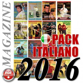 Pack 2016 Italian Budo Cintura Nera Magazine