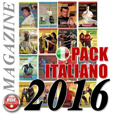 Pack 2016 Revista Italiana Budo Cintura Nera
