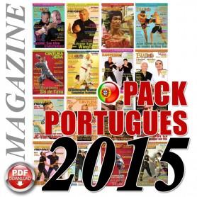Pack 2015 Portoghese Budo International Magazine
