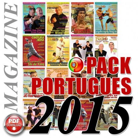 Pack 2015 Portuguese Budo International Magazine