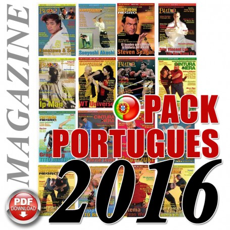 Pack 2016 Revista Portugués Cinturão Negro