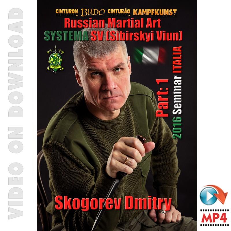RMA Systema SV 2016 Self Defense Seminar Vol-1, Italy