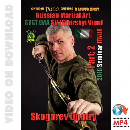 RMA Systema SV 2016 Self Defense Seminar Vol-2, Italy