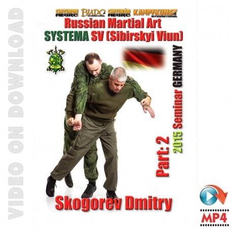 RMA Systema SV 2015 International Seminar Vol-2, Germany