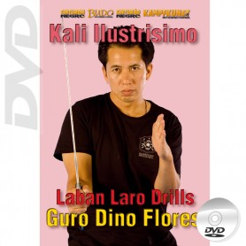 DVD Kali Ilustrisimo Laban Laro Drills