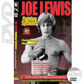 DVD Supercharge Workout 2. Kick Boxing. Joe Lewis Fighting Systems Vol.12