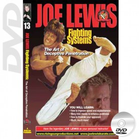 DVD The Art of Deceptive Penetration. Joe Lewis Fighting Systems Vol.13