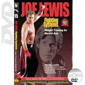 DVD Weight Training for Martial Arts. Joe Lewis Fighting Systems Vol.15