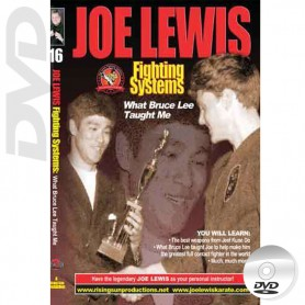 DVD What Bruce Lee Taught Me. Kick Boxing. Joe Lewis Fighting Systems Vol.16