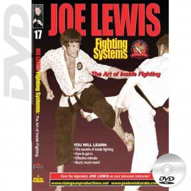 DVD The Art of Inside Fighting. Joe Lewis Fighting Systems Vol.17