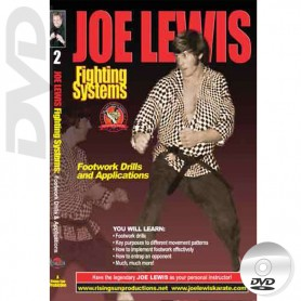 DVD Footwork. Kick Boxing. Joe Lewis Fighting Systems Vol.2