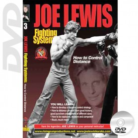 DVD How to Control Distance. Kick Boxing. Joe Lewis Fighting Systems Vol.3