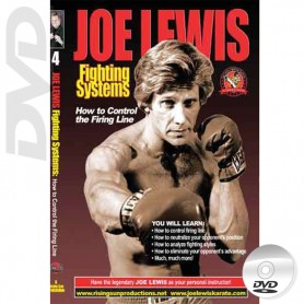 DVD How to Control the Firing Line. Kick Boxing. Joe Lewis Fighting Systems Vol.4