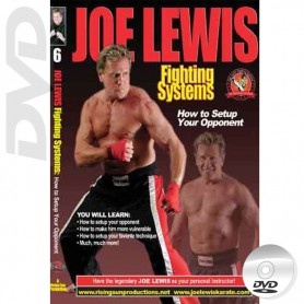 DVD How To Setup Your Opponent. Kick Boxing. Joe Lewis Fighting Systems Vol.6