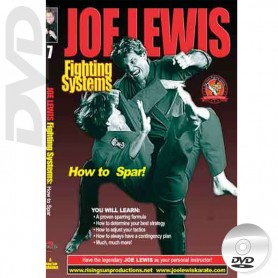 DVD How to Spar. Kick Boxing. Joe Lewis Fighting Systems Vol.7