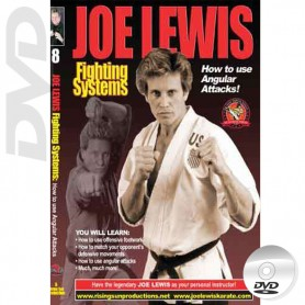 DVD How to use Angular Attacks. Kick Boxing. Joe Lewis Fighting Systems Vol.8