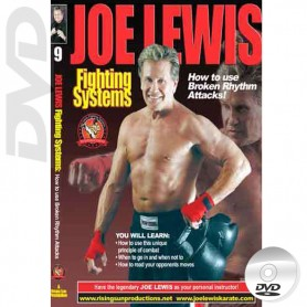 DVD How to use Broken Rhythm Attacks. Joe Lewis Fighting Systems Vol.9
