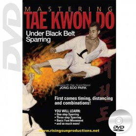 DVD Mastering Tae Kwon Do Under Black Belt Sparring