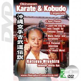 DVD Katsuya Miyahira Shidokan Shorin Ryu. Okinawa Karate Kobudo Vol.2