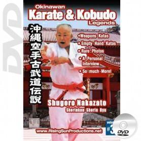 DVD Shuguro Nakazato Shorin Kan Shorin Ryu. Okinawa Karate Kobudo Vol.3