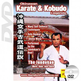 DVD Jundokan More Then Just Katau. Okinawa Karate Kobudo Vol.5