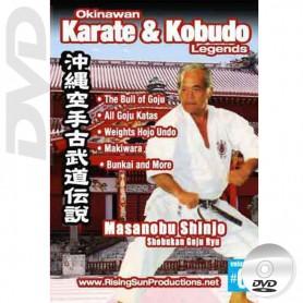 DVD Masanobu Shinjo Shobukan Goju Ryu. Okinawa Karate Kobudo Vol.6