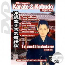 DVD Tatsuo Shimabuku Isshin Ryu. Okinawa Karate Kobudo Vol.8
