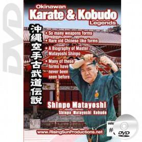 DVD Matayoshi Shinpo Matayoshi Kobudo. Okinawa Karate Kobudo Vol.9