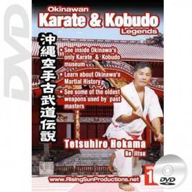 DVD Tetsuhiro Hokama Bo Jitsu. Okinawa Karate Kobudo Vol.10