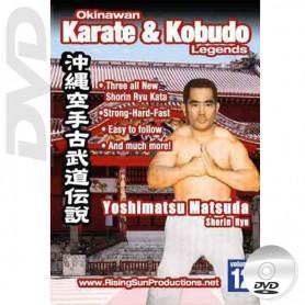 DVD Yoshimatsu Matsuda Shorin Ryu. Okinawa Karate Kobudo Vol.12