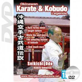 DVD Seikichi Odo Ryu Kyu Kobujitsu. Okinawa Karate Kobudo Vol.15