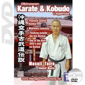 DVD Masaji Taira Bunkai Master. Okinawa Karate Kobudo Vol.16