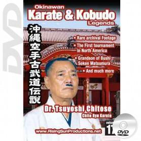 DVD Dr. Tsuyoshi Chitose Chito Ryu Karate. Okinawa Karate Kobudo Vol.17