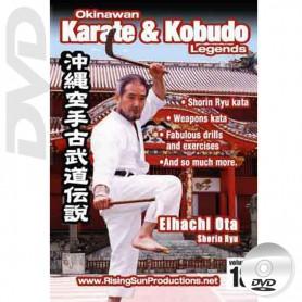 DVD Eihachi Ota Shorin Ryu. Okinawa Karate Kobudo Vol.18