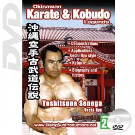 DVD Yoshitsune Senega Uechi Ryu. Okinawa Karate Kobudo Vol.20